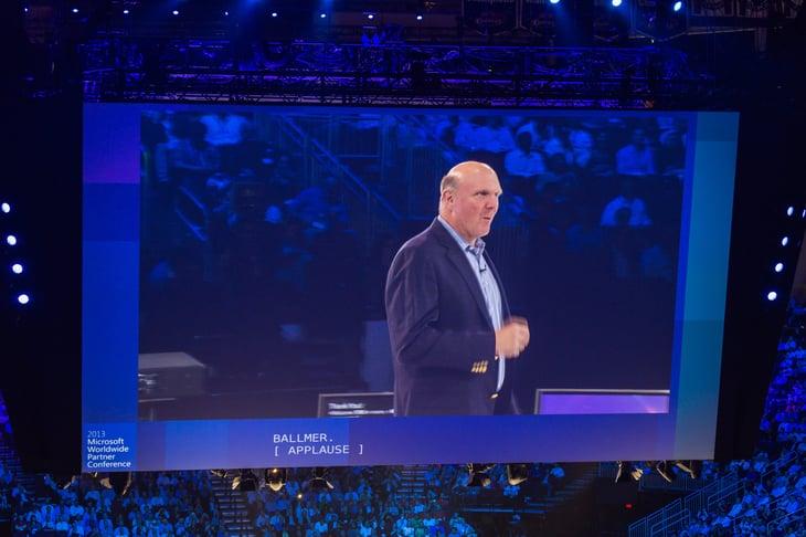 Steve Ballmer of Microsoft