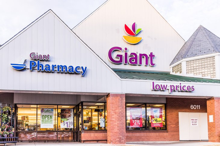 Giant grocery store