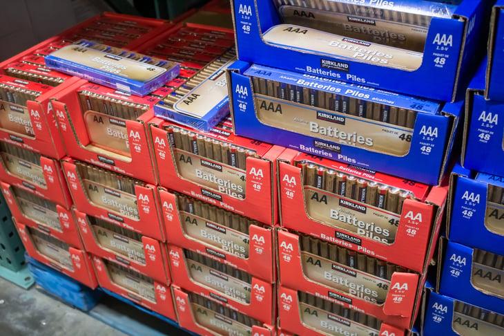 Costco's Kirkland Signature batteries
