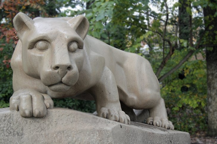 Penn State Nittany Lion State College Pennsylvania