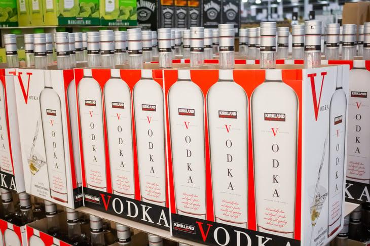 Costco's Kirkland Signature vodka