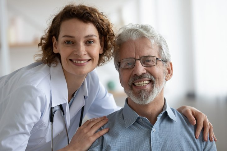 Medicare participant and doctor