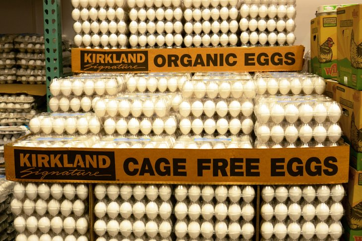 Costco's Kirkland Signature eggs