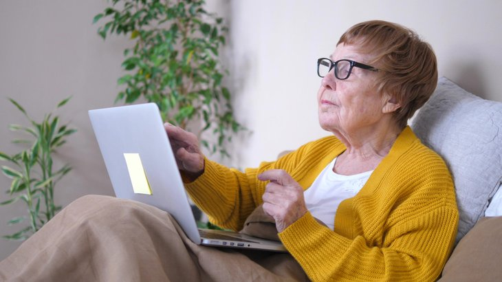 Retiree making legal documents