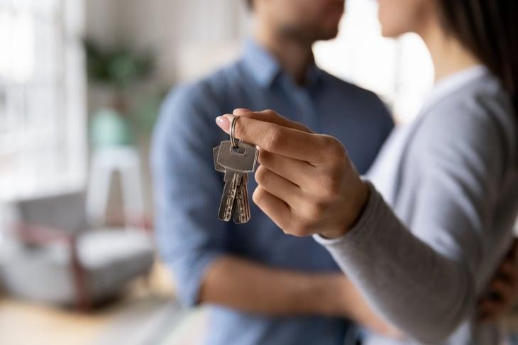 couple house keys