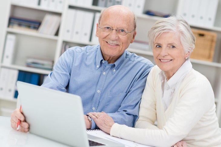 older Americans senior citizens computer