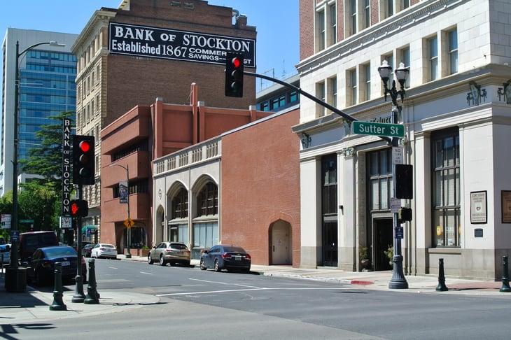 Stockton California street