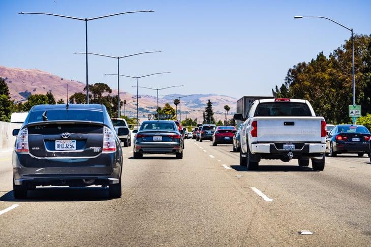 Fremont California traffic