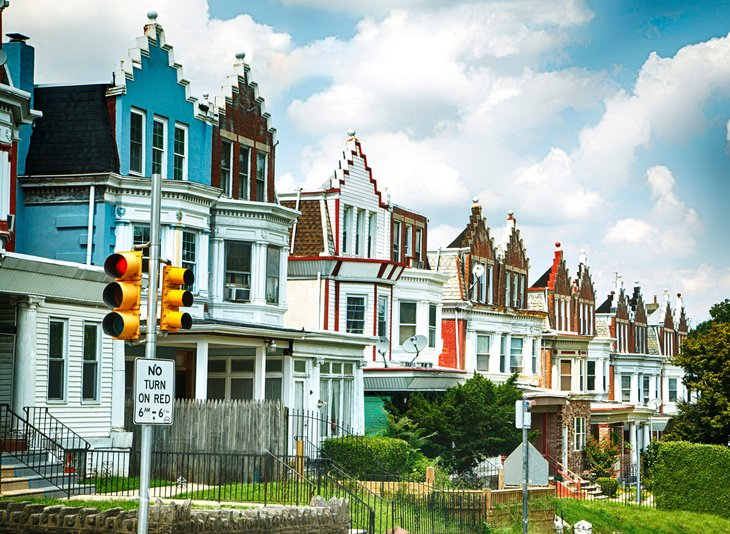 Philadelphia neighborhood homes