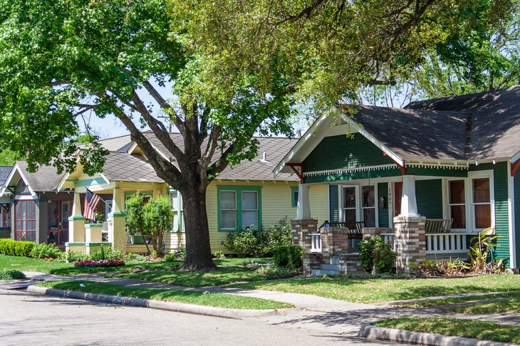Houston homes neighborhood