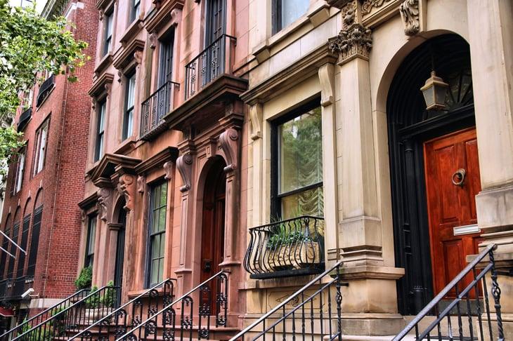 New York City homes neighborhood
