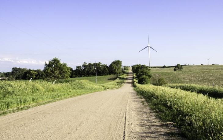 Nebraska Wind Turbine