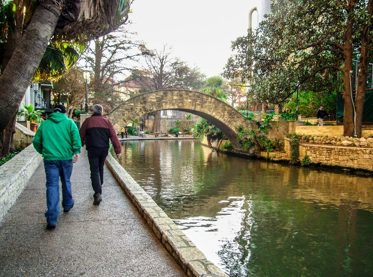 San Antonio in winter