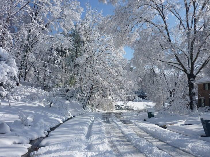 Winter in Arkansas