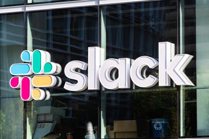 Slack Company Sign