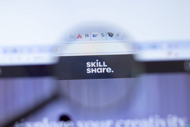 Skillshare Website