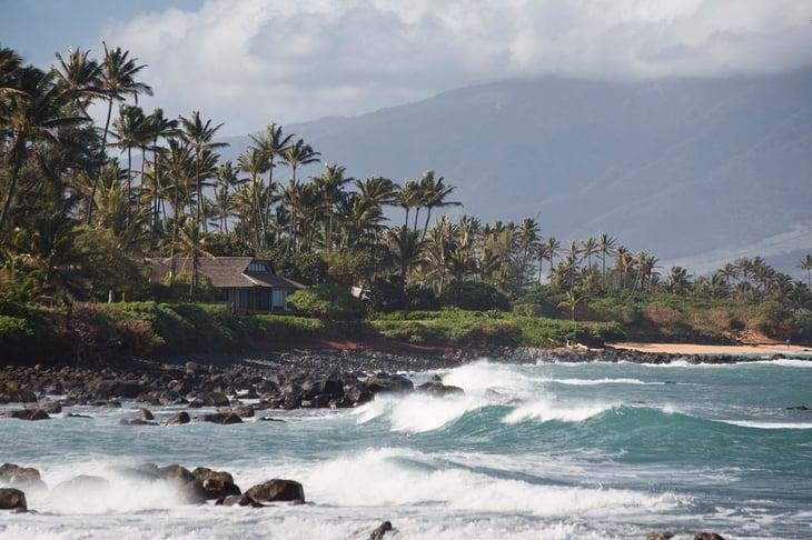 Kalului homes Maui Hawaii