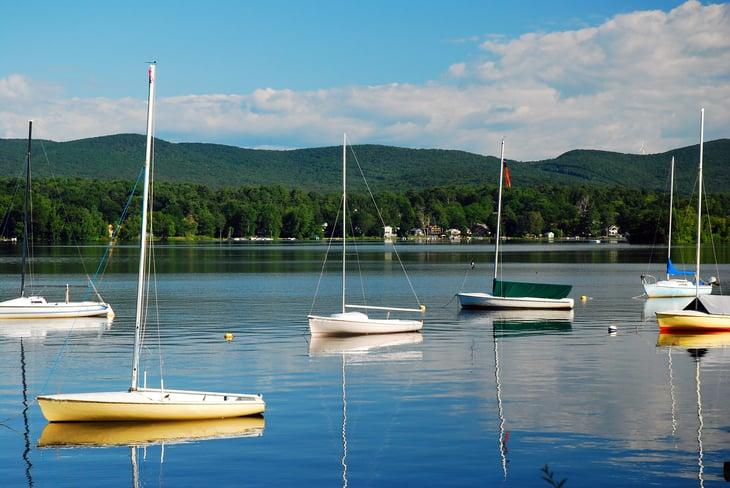 Pittsfield Massachusetts lake