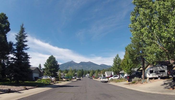 Flagstaff Arizona neighborhood homes