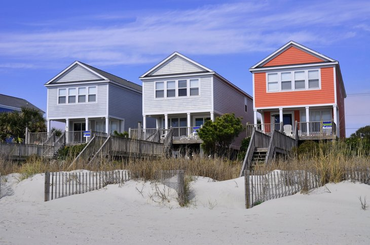 Myrtle Beach South Carolina beach homes