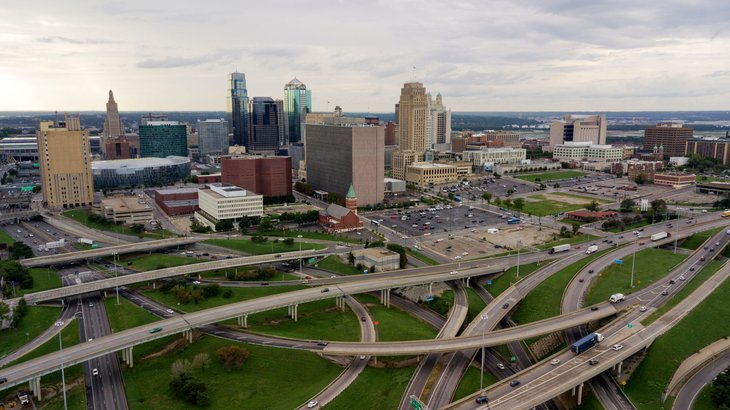 Kansas City Missouri traffic highways