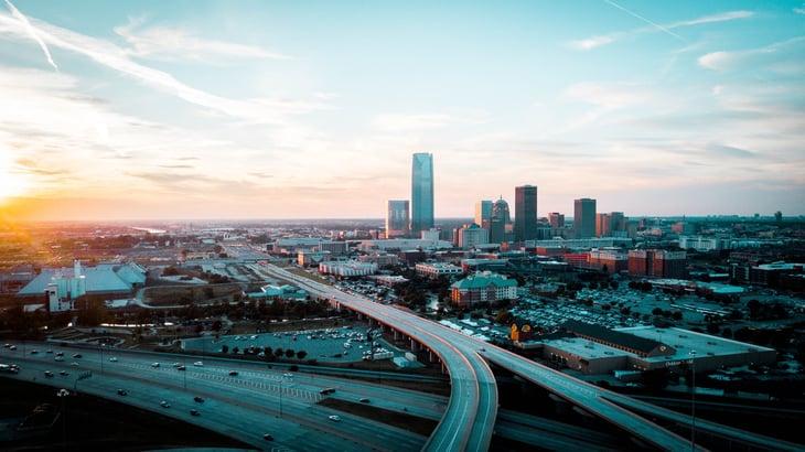 Oklahoma City, Oklahoma traffic highways