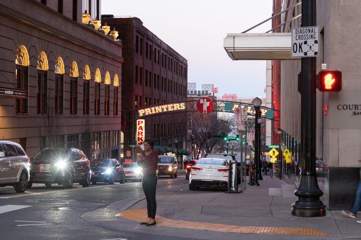 Nashville Tennessee traffic