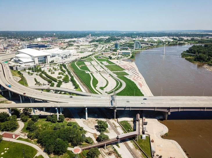 Omaha, Nebraska traffic highways
