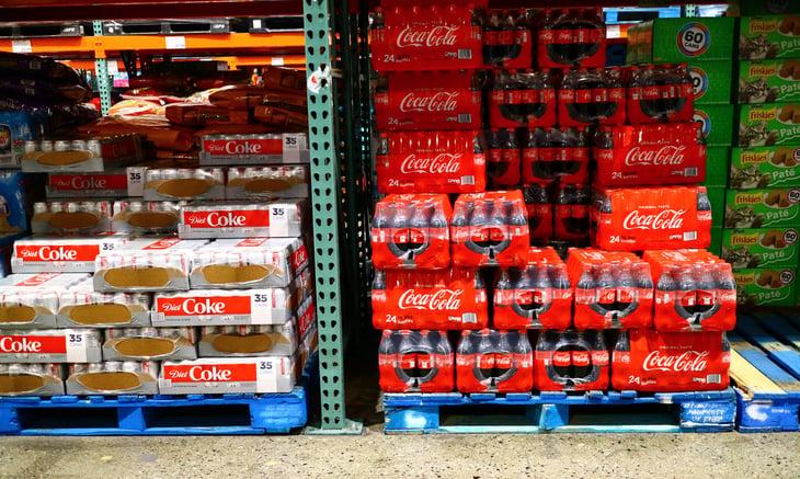 Soda at Costco