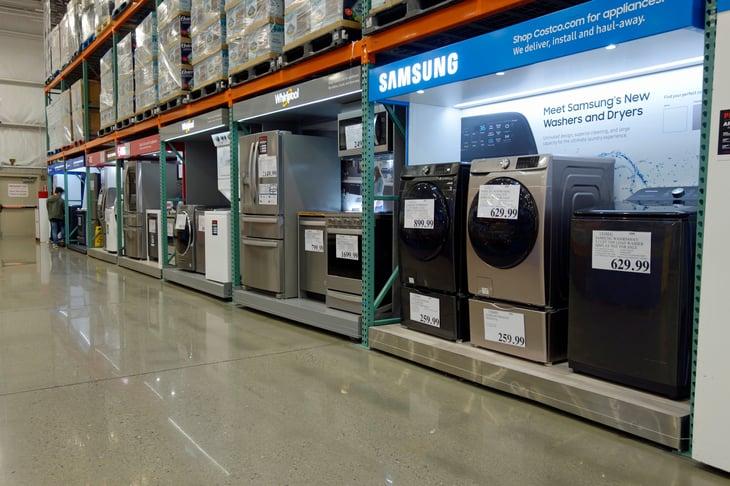 Appliances at Costco
