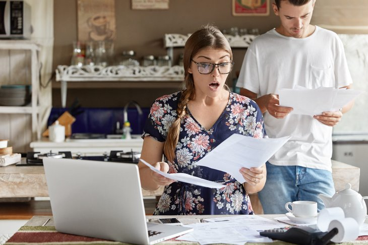 Woman shocked by her tax rate