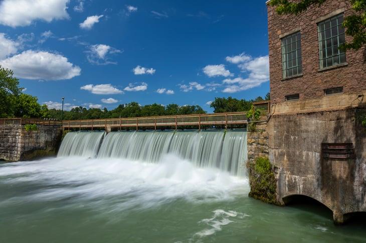 Arkansas Dam