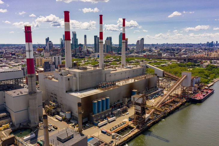 Long Island New York Power Plant
