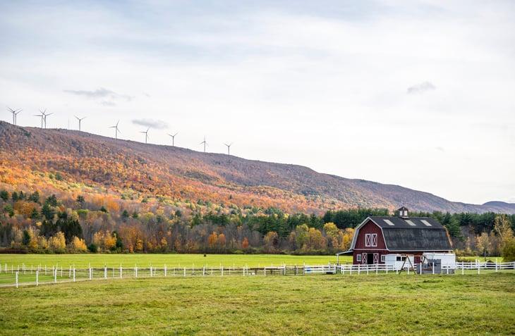 Vermont wind farm