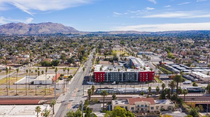 Riverside California neighborhood