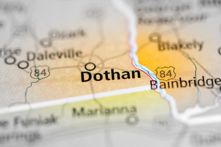 Dothan Alabama Map