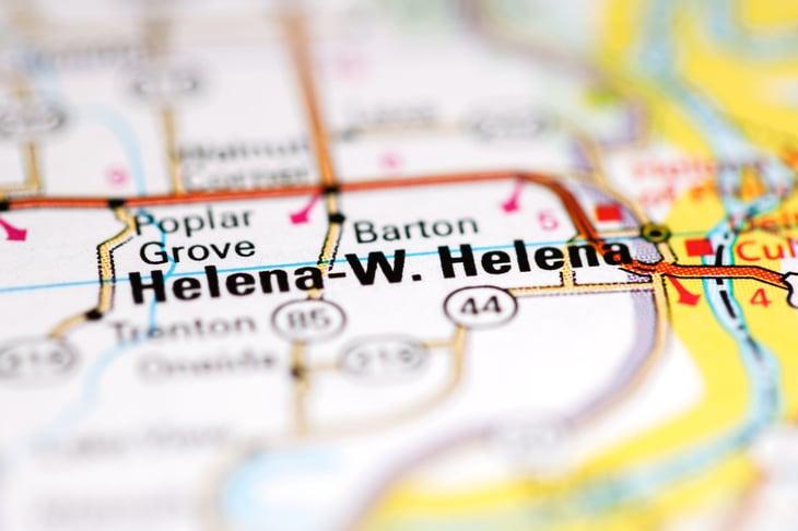 Helena-West Helena Arkansas