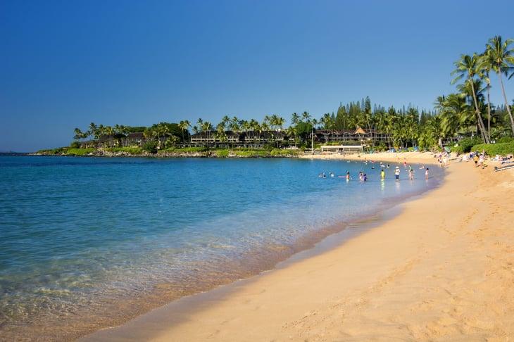 Napili Beach on Maui, Hawaii