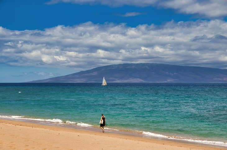 Ka'anapali Beach on Maui, Hawaii