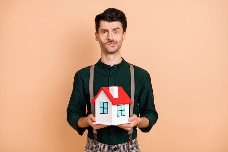 Confused homeowner