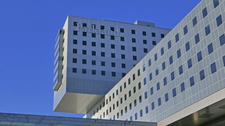 Parkland Hospital in Dallas Texas
