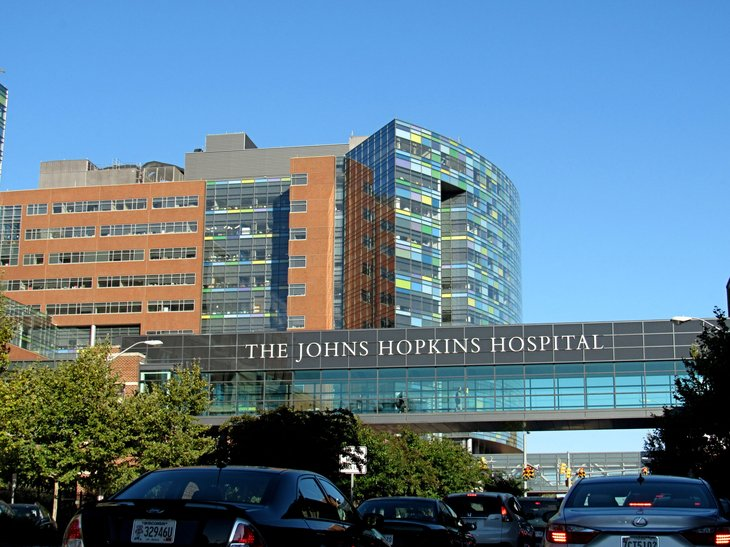 Johns Hopkins Hospital in Baltimore, Maryland