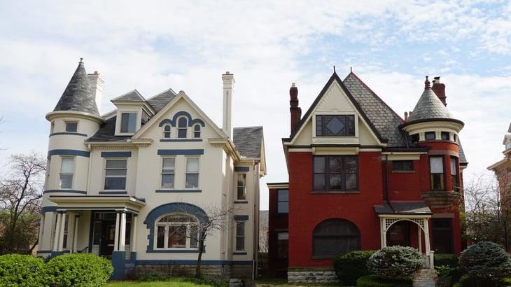 Historic homes in Columbus, Ohio