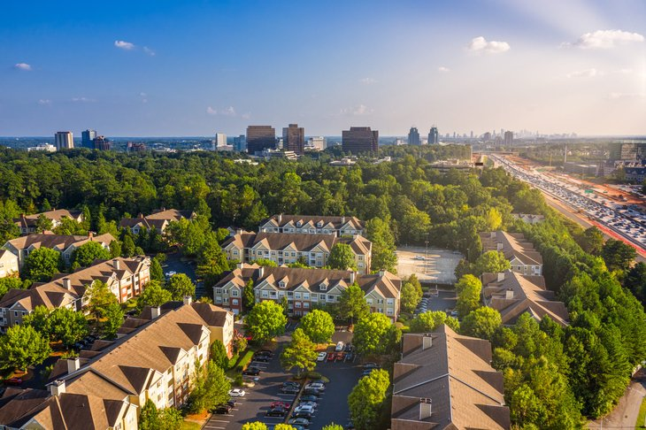 Atlanta, Georgia homes