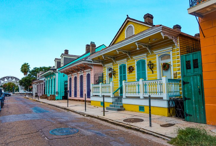 Homes in New Orleans, Louisiana