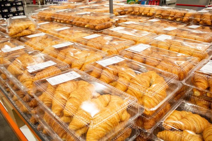 Croissants at Costco