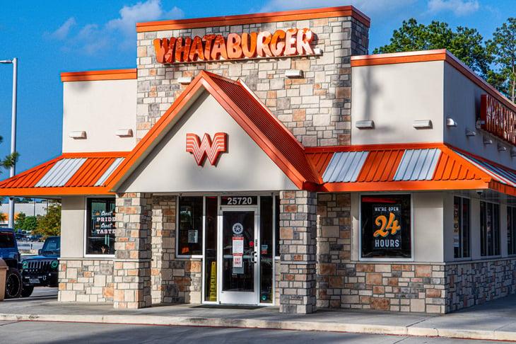 Whataburger fast food restaurant
