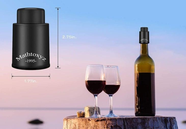 Mathtoxyz wine stoppers