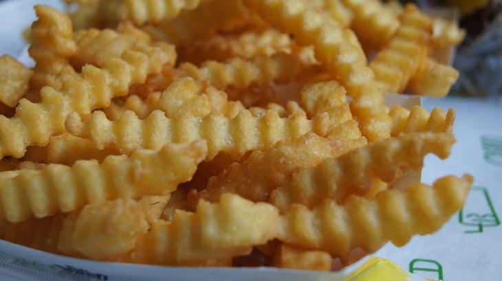Shake Shack's crinkle cut fries