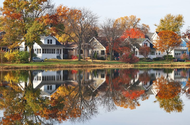 Houses in Madison, Wisconsin